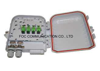 Fiber Splitter Termination Box 12 Core Loaded With 1x8 PLC Blockless