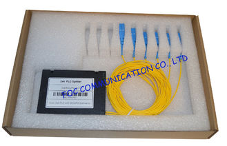 2XN Series Fiber PLC Splitter , Planar Lightwave Circuit Optical Fiber Splitter